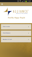 Screenshot of AllianceHealthcare