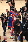 lebron james nba 130217 all star houston 66 game 2013 NBA All Star: LeBron Sets 3 pointer Mark, but West Wins
