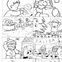 Papá Noel-carrera de trineros