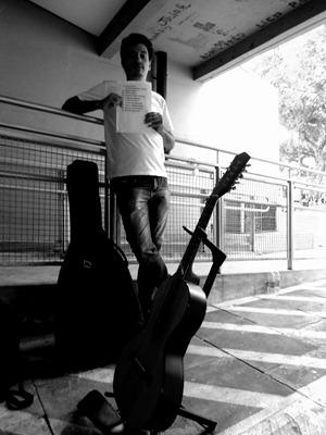 Backstage do Rock in Far 2011