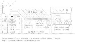 [AA]Food stall