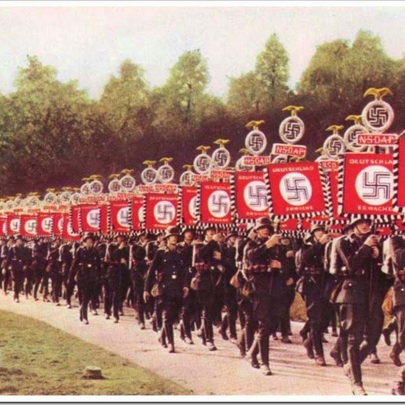 Fotos em cores da Alemanha nazista antes da Segunda Guerra Mundial