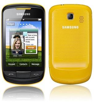 Spesifikasi Samsung Corby II