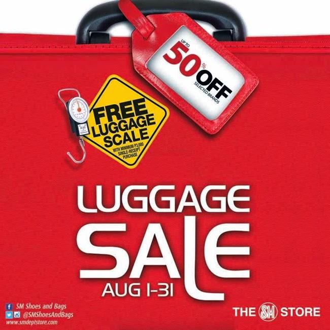SM Luggage Sale