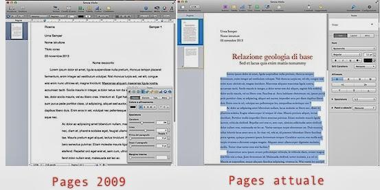 Pages 2009 e oggi