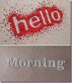 hello morning
