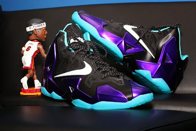 nike lebron 11 id production hornets 1 05 NIKEiD LeBron 11 Summit Lake Hornets Build by PPumper