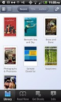 Screenshot of Diesel eBooks Store