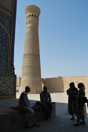 Obiective turistice Bukhara - Minaretul Kalon