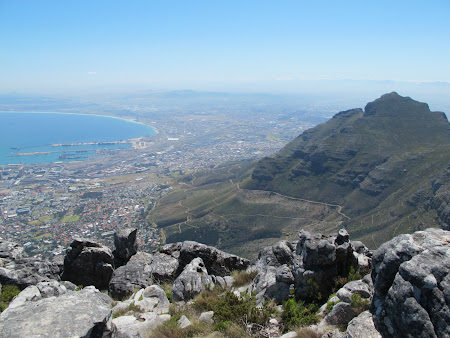 Obiective turistice Africa de Sud Table Mountain