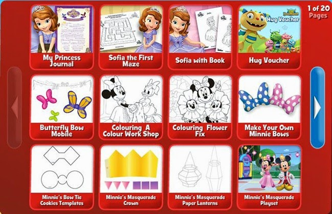 Sofie the First Colouring and Activities