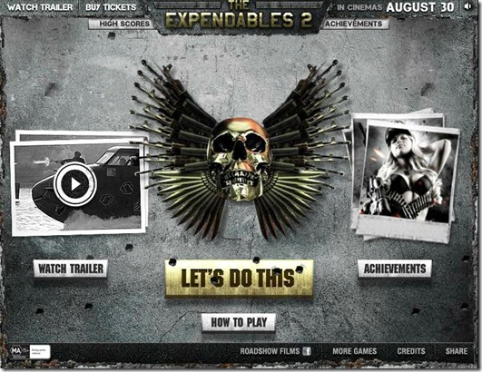 Expandables 2 TD free full game
