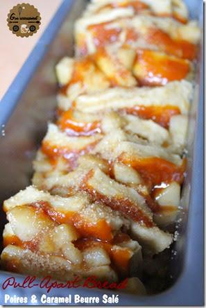 Pull-Apart Bread Poires & Caramel Beurre Salé 3