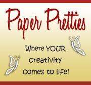 Paper pretties badge