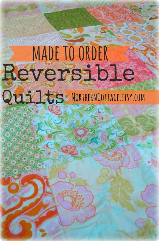 {NorthernCottage} made to order quilts