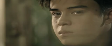 Khalil Ramos in Kung Ako Na Lang Sana music video