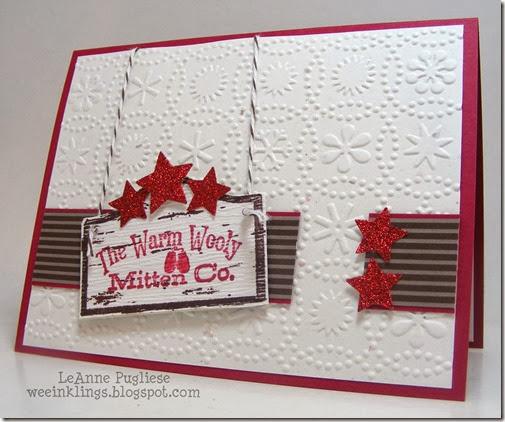 LeAnne Pugliese Weeinklings Merry Monday 83 Christmas Card
