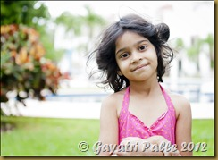 Richa at a resort
