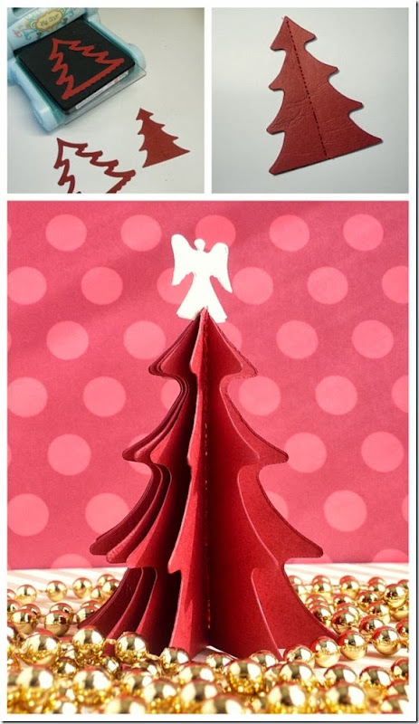 cafe creativo - sizzix big shot - christmas tree - holiday (3)