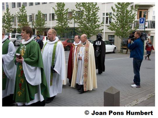 La glèisa catolica se passeja en Euròpa