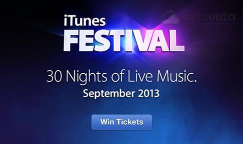 Conciertos iTunes