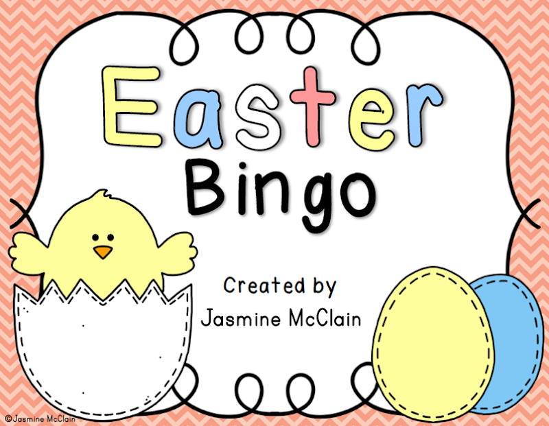 easterbingo created by jasmine mcclain