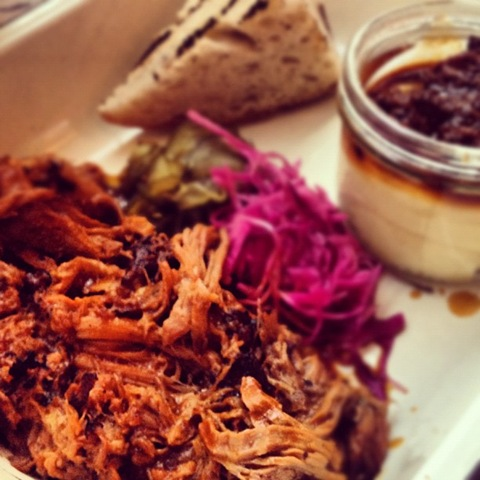 #143 - Pitt Cue Co pulled pork and burnt mash