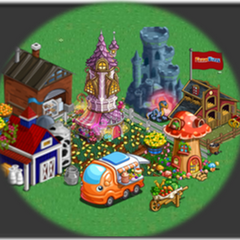 Farmville Cottages, Self Contained , Lab Crafting Buildings and Crafting Farm