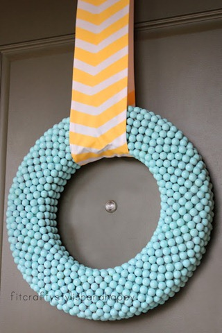 feature spring Easter wreath 1