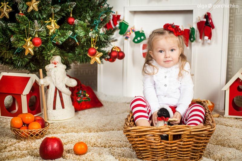 Детский новогодний фотопроект Рождественские мечты. 1. Варя-15
