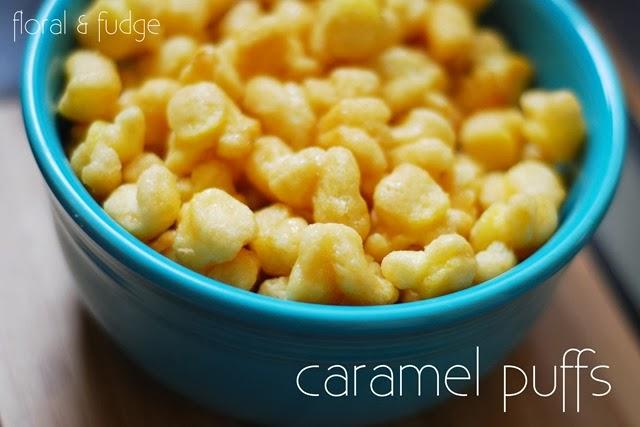 caramel puffs