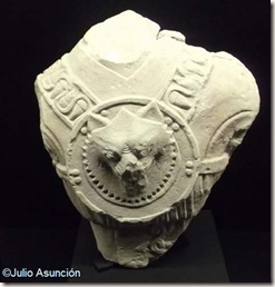 Torso de guerrero ibero - Museo del Yacimiento de la Alcudia - Elche