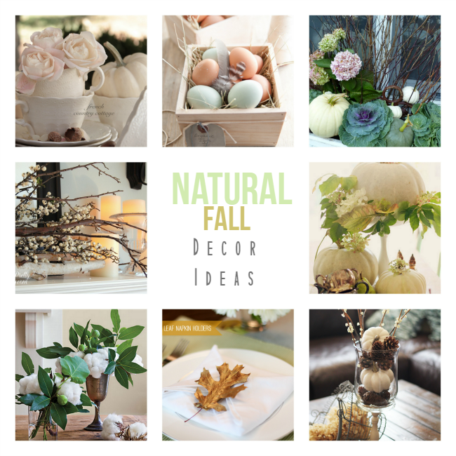 Round Up Natural Fall Decor collage 3