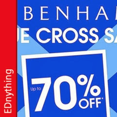 EDnything_Thumb_Debenhams Blue Cross Sale