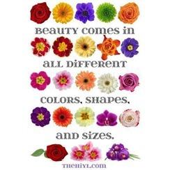 beauty comes