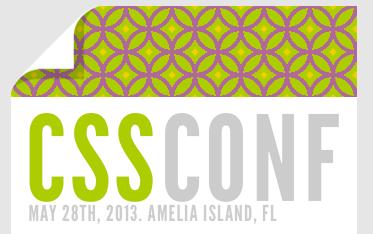 Cssconf 2013