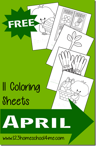 free spring coloring pages #coloringpages #preschool