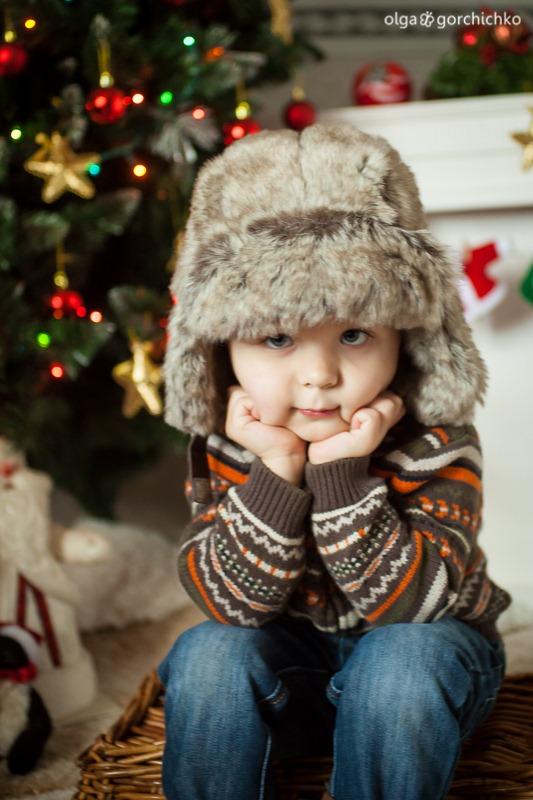 Детский новогодний фотопроект Рождественские мечты. 25. Андрюша-0507