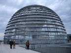 The Reichstag dome designed by architect Norman Foster is a glass dome constructed on top of the rebuilt Reichstag building in Berlin.