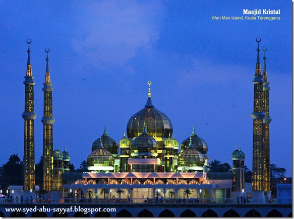 Masjid Kristal – Terengganu, Malaysia