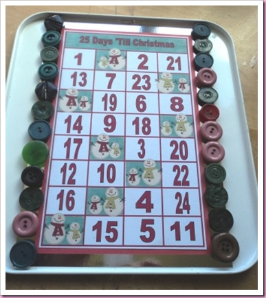 Baking Tray Advent Calendar 2