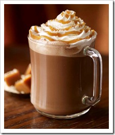 Starbucks Salted Hot Chocolate