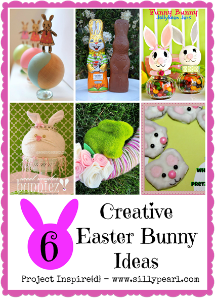 Six Creative Easter Bunny Ideas - Project Inspire{d}