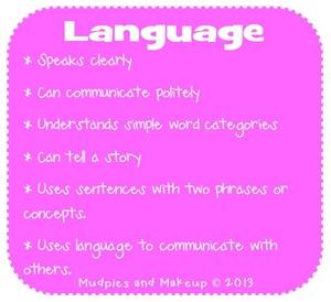 Preschool Language Skills
