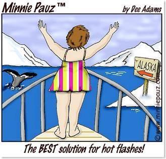 Menopause funny cartoon