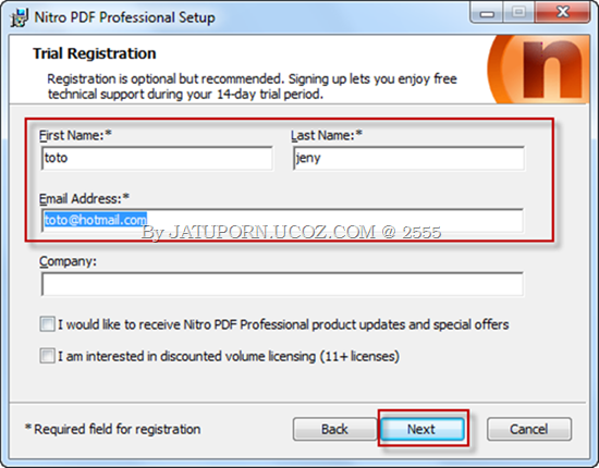 Nitro PDF Professional 3
