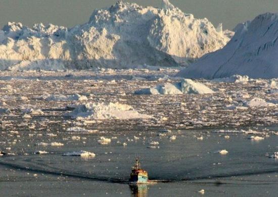 Más del 70 % del hielo del Océano Ártico se derrite