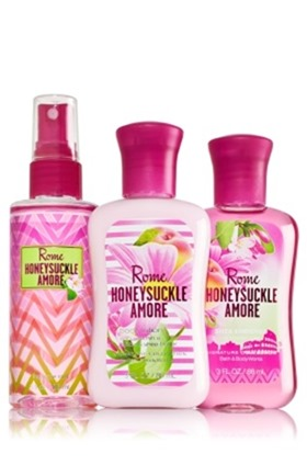 Rome Honeysucke Amore Travel Set