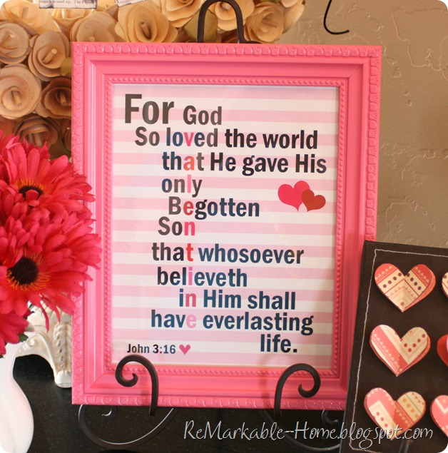 ReMarkable Home: SCRIPTURE LOVE {Free Printable}