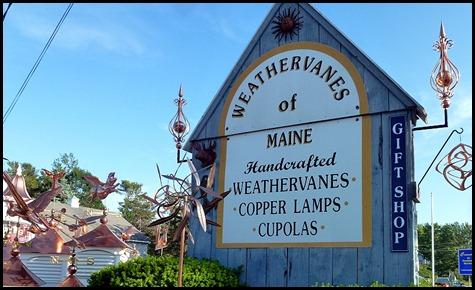 04b - After Dinner walk - copper weathervanes